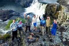 Joel Datena grava programa Coracao de Pescador no Uruguay e em Bage-RS 2