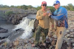 Joel Datena grava programa Coracao de Pescador no Uruguay e em Bage-RS 3