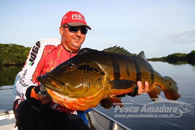 Juninho - Ornamento da pesca esportiva do tucunare no Amazonas
