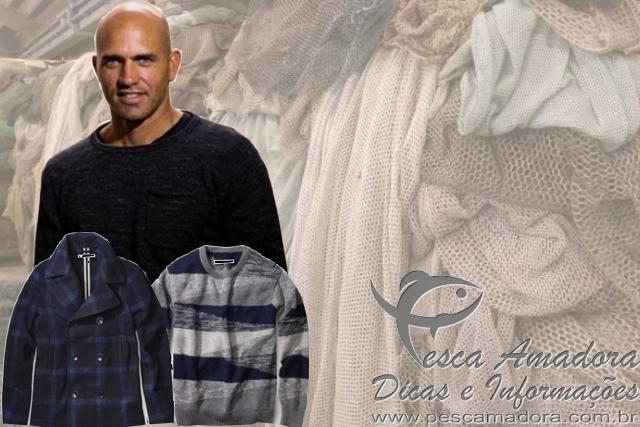 Kelly Slater lanca roupas feitas com redes de pesca-capa