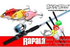 Kit de pesca rapala angry birds