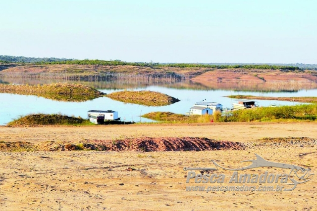 Lago Serra da Mesa registra volume mais baixos dos ultimos 10 anos e prejudica o turismo