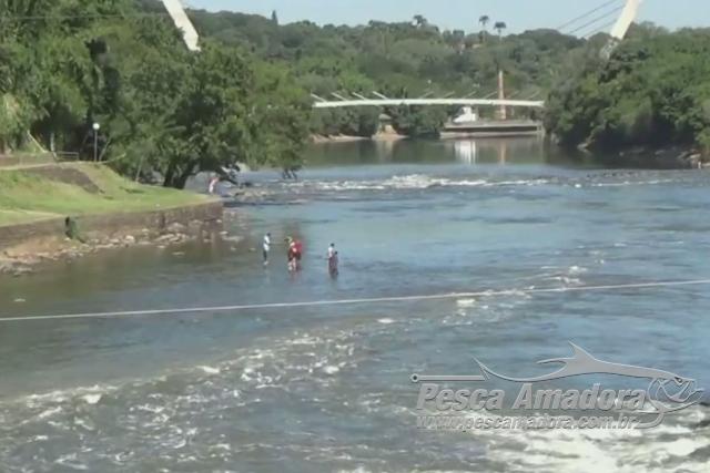 MPF fecha o cerco contra a pesca irregular em trecho do Rio Piracicaba-SP
