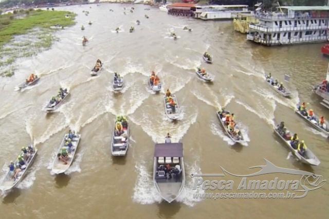 Maior festival de pesca esportiva de agua doce comeca nesta quarta em MT