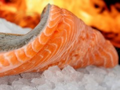 Mais Salmon Chileno na mesa do Brasileiro