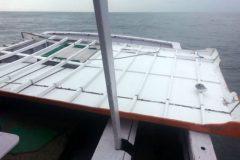 Marinha divulga imagens de material recolhido na busca pelo barco Anjo Gabriel