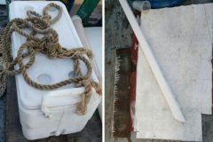 Marinha divulga imagens de material recolhido na busca pelo barco Anjo Gabriel 4