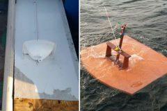 Marinha divulga imagens de material recolhido na busca pelo barco Anjo Gabriel 5