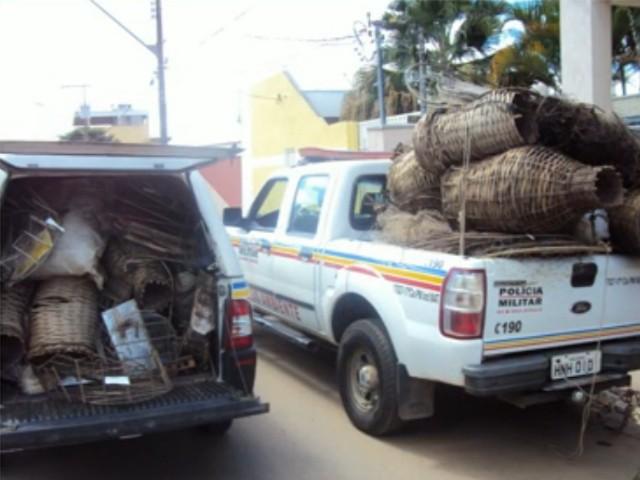 Material apreendido pela PMA de Pouso Alegre foi insinerado