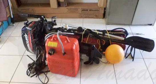 Material de pesca subaquatica ilegal apreendido no MS