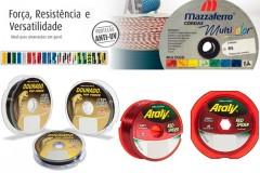Mazzaferro e a fornecedora oficial da Selecao Brasileira de Pesca