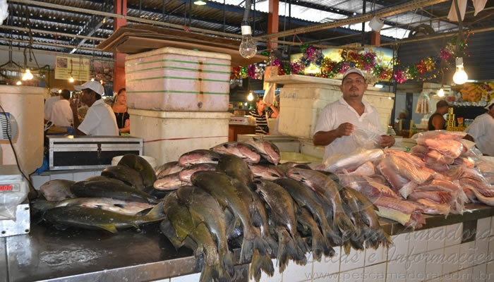 Mercado de peixes de Manaus