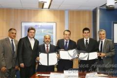 Ministro da pesca e dos esportes em assinatura de acordo para fortalecimento da pesca esportiva