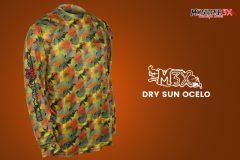 Monster 3X lanca colecao de camisetas Dry Sun M3X 4