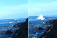 Morador flagra e denuncia pesca com bomba em Salvador-BA