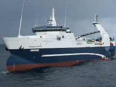 Navio de pesca Portugues Franca Morte