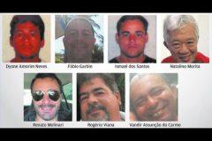 Nomes dos tripulantes do barco de afundou em Bertioga-SP