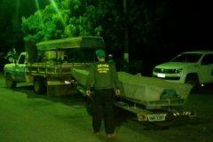 Operacao Araguaia apreende 360 kg de pescado em Goias