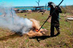 Operacao conjunta apreende 18 mil metros de redes e 450 kg de pescado ilegal na Bahia