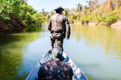 Operacao conjunta apreende 66 kg de pescado ilegal em Mato Grosso