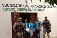 Operacao conjunta apreende redes pescado e armas no oeste da Bahia 4