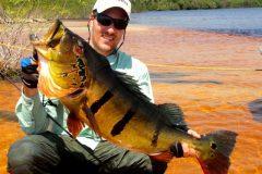 Ornamento da pesca esportiva do tucunare no Amazonas 3