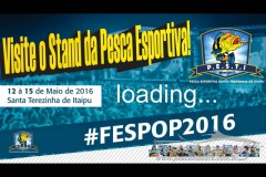 PESTI participa do 8 Fespop com stand sobre pesca esportiva em Santa Terezinha de Itaipu-PR