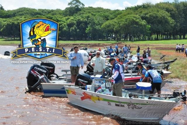 PESTI realiza o 3 Torneio de Pesca Internacional ao Tucunare no PR