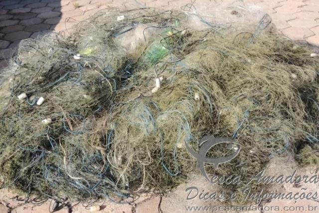 PF apreende cerca de 400 kg de peixes e 3 km de redes no Rio Parana 4