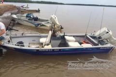 PF resgata participantes de campeonato de Pesca no Lago de Itaipu no PR