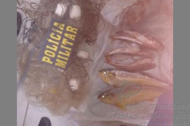 PM prende dois por pesca predatoria no Rio Araguaia-MT