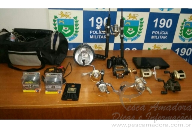 PM prende homem por comercializar materiais de pesca roubados no MS