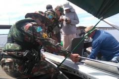 PMA apreende 1 km de redes de pesca  tres espinheis e 192 anzois de galho em MS