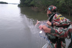 PMA apreende 1 km de redes de pesca  tres espinheis e 192 anzois de galho em MS 3