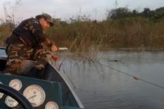 PMA apreende 1.200 metros de redes na represa Capivara no Parana 2