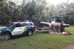 pma-apreende-2000-metros-de-redes-durante-operacao-agua-viva-no-parana