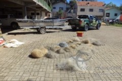 PMA apreende 24 redes irregulares em Canoinhas-SC