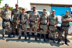 PMA apreende 31 rede 100 kg de carne e 252 kg de pescado ilegal no Rio Meia Ponte-GO
