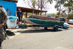PMA apreende 31 rede 100 kg de carne e 252 kg de pescado ilegal no Rio Meia Ponte-GO 6