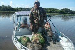 PMA apreende 350 metros de redes no Pantanal