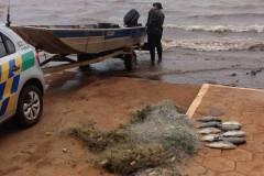 PMA apreende 351 redes e 84 kg de pescado durante o carnaval em GO 4