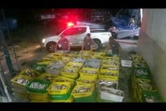 PMA apreende 4 toneladas de pescado ilegal em area restrita em Guaruja-SP