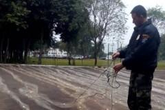 PMA apreende 550m de redes no lago de Itaipu-PR 3
