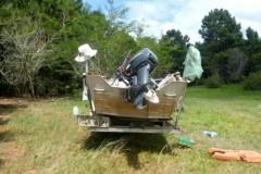 PMA apreende 76 kg de pescado ilegal e 1.300 m de redes no RS 4