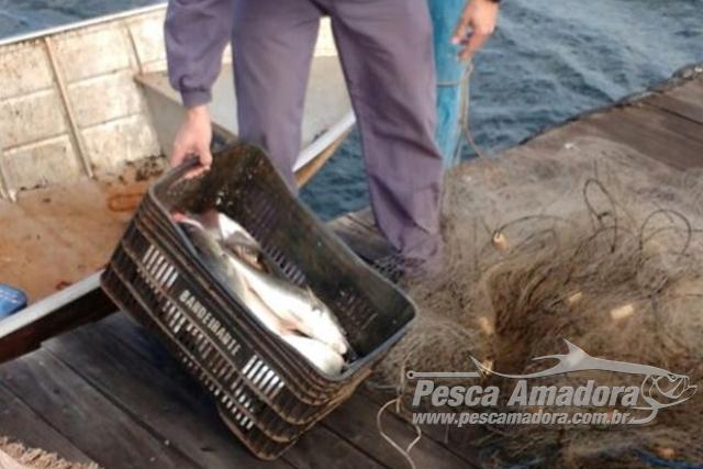 PMA apreende casal com redes e pescado ilegal em usina hidreletrica em SP
