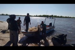 PMA apreende mais de 10 mil metros de redes e 300 kg de pescado ilegal no RS