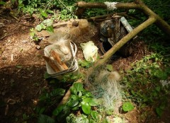 PMA apreende material de pesca ilegal em Castilho-SP