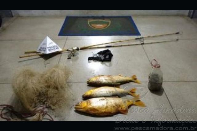 PMA apreende pescado e multa homem em mais de 7Mil por pesca ilegal em MG