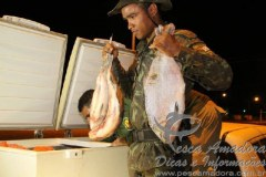 PMA apreende pescado fora da medida em fiscalizacao no MT