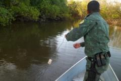 PMA apreende pescado ilegal e 250 m de redes no Tocantins